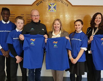Mearns Academy cross-country runners blaze a trail