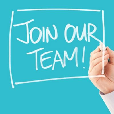 We are recruiting!                            .
