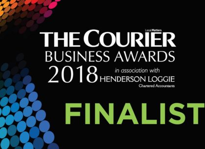 Blaze shortlisted for two Courier Business Awards